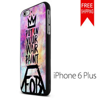 put on your paint fob band quotes KK iPhone 6 Plus Case