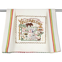 Yellowstone National Park Dish Towel