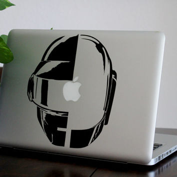 "Macbook Pro Decal - Daft Punk - Available for Macbook Air, Macbook Pro Retina models in 11"" 13"" 15"" 17"""
