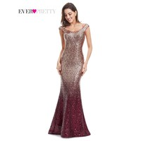 Sparkle Elegant Sequin Evening Gown
