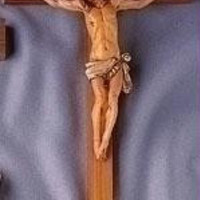 Fontanini Wooden Wall Crucifix - Comes Boxed