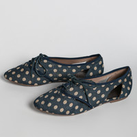 Donnie Oxfords In Navy By Matisse
