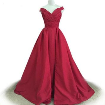 Burgundy dresses prom dress sequined homecoming dressesprom gown real photo