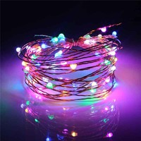 5M Waterproof USB Power Operated LED Christmas Light String