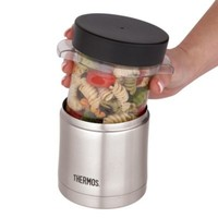Thermos® 12-Ounce Vacuum-Insulated Food Jar with Microwaveable Container