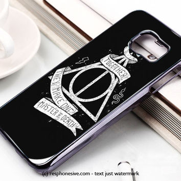 Deathly Hallows Harry Potter Samsung Galaxy S6 and S6 Edge Case