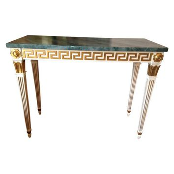Pre-owned Julia Grey Console Table