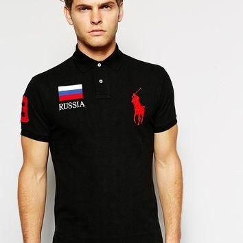 Polo Ralph Lauren Polo with Russia Flag
