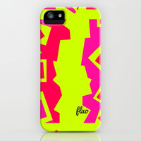 Abstract Fluo - for iphone iPhone & iPod Case by Simone Morana Cyla