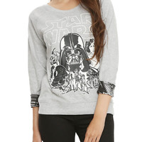 Star Wars Girls Reversible Pullover Top