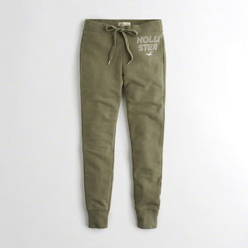 Girls Ultra High-Rise Fleece Leggings | Girls New Arrivals | HollisterCo.com