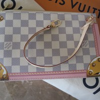 LV Lovely DA Summer Trunk NF Pouch Only Damier Azur soldout online Louis Vuitton
