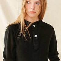 Vintage Overdyed Henley Shirt | Urban Outfitters
