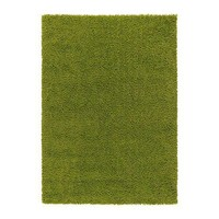 "HAMPEN Rug, high pile - bright green, 4 ' 4 ""x6 ' 5 "" - IKEA"