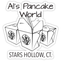 Al's Pancake World shirt – Gilmore Girls, Stars Hollow, Rory, Lorelai, Luke's Diner by fandemonium