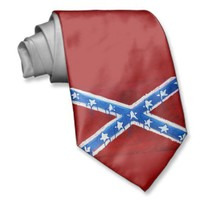 Rebel Flag Tie from Zazzle.com