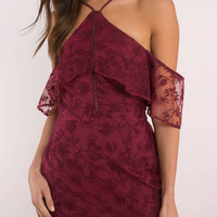 The Jetset Diaries Willow Lace Mini Dress