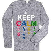 Keep calm 5 second of summer for Long Sleeved Mens and Long Sleeved Girls T Shirt