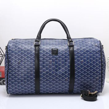 Goyard Women Travel Bag Leather Tote Handbag Shoulder Bag