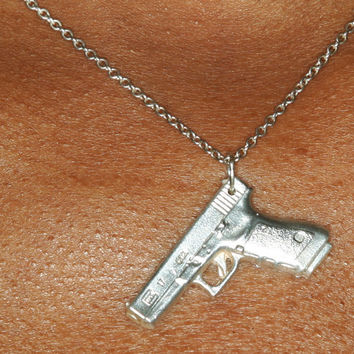 Baby Glock Necklace by Precious Metal Cid