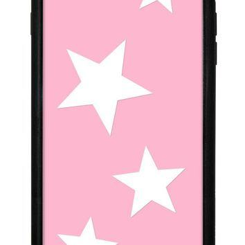 Pink Vinyl Stars iPhone 6/7/8 Plus Case