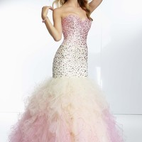 Paparazzi by Mori Lee 95084 Ombre Mermaid Dress