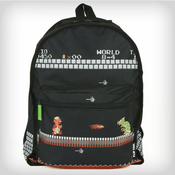 Nintendo Mario Bros. 8-Bit Reversible Backpack