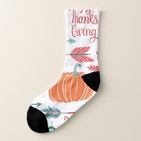Thanksgiving Socks