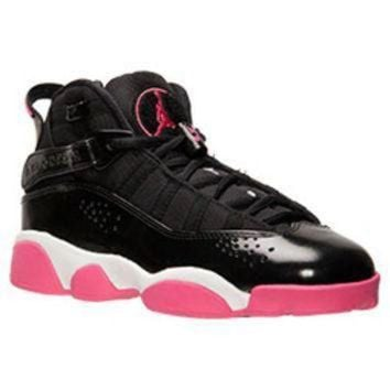 buy popular 28324 a2dd0 Girls  Grade School Jordan 6 Rings Basketball Shoes