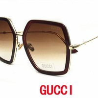 GUCCI Cat Eye Sunglasses Women Brand Designer Luxury Crystal Sexy Sun Glasses For Ladies sunglasses for mens