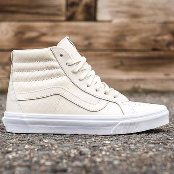 ESBON VANS SK8-HI REISSUE DX (ARMOR LEATHER) - TURTLEDOVE