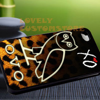 The Weeknd Xo Ovo Owl Special - iPhone 4 / iPhone 4S / iPhone 5 / Samsung S2 / Samsung S3 / Samsung S4 Case Cover