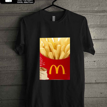 McDonalds French Fries T-SHIRT FOR MAN SHIRT,WOMEN SHIRT **