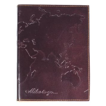World Journal Leather Cover
