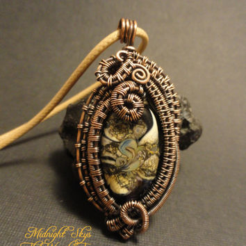 Wire Wrapped 'Midnight Skys' OOAK by The Wired Fox on Zibbet