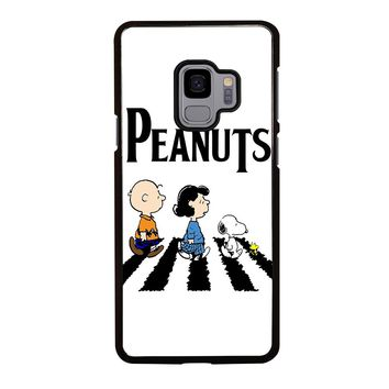 THE PEANUTS SNOOPY CHARLIE BROWN BEATLES Samsung Galaxy S4 S5 S6 S7 S8 S9 Edge Plus Note 3 4 5 8 Case Cover