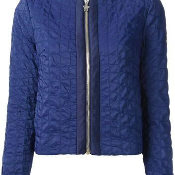 Moncler Gamme Rouge Crocodile Effect Quilted Jacket