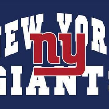 3X5FT Arch style ny new york giants  flag 100D polyester banner