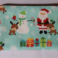 Zipper pouch, coin purse Ready for Christmas free shipping