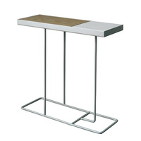 companion side table / silver