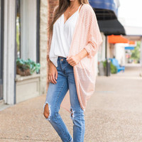Something About You Cardigan, Blush