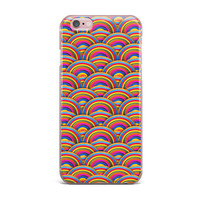 "Danny Ivan ""Rainbows"" Multicolor iPhone Case"