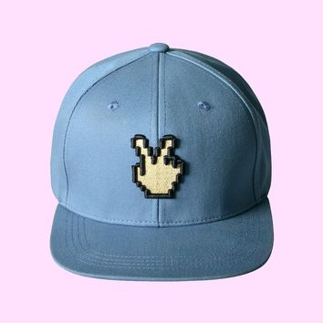Peace Sign Snapback Hat