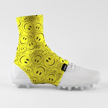 Smiley Faces Spats / Cleat Covers