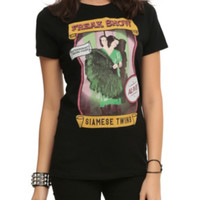 American Horror Story: Freak Show Siamese Twins Girls T-Shirt