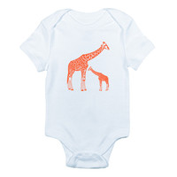 Giraffe Bodysuit and Tee