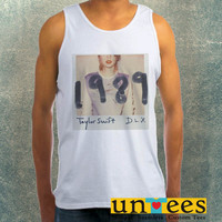 Taylor Swift 1989 Clothing Tank Top For Mens
