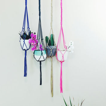 Hanging planters, plant hangers, indoor hanger, outdoor hanger, plant holder