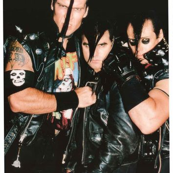 The Misfits Band Trio Poster 23x33