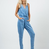 Sporty Vintage Jumpsuit - Small